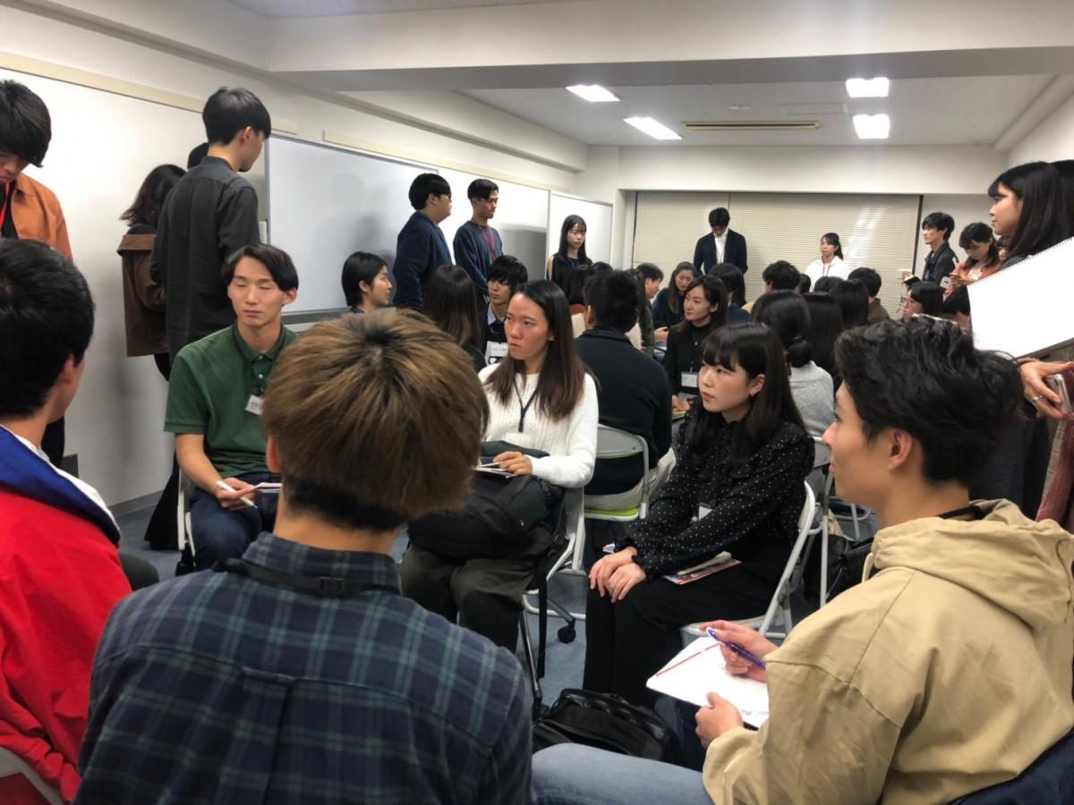 【東京オフィス】11/21(木)に21卒向けベンチャーイベントを開催します【告知】