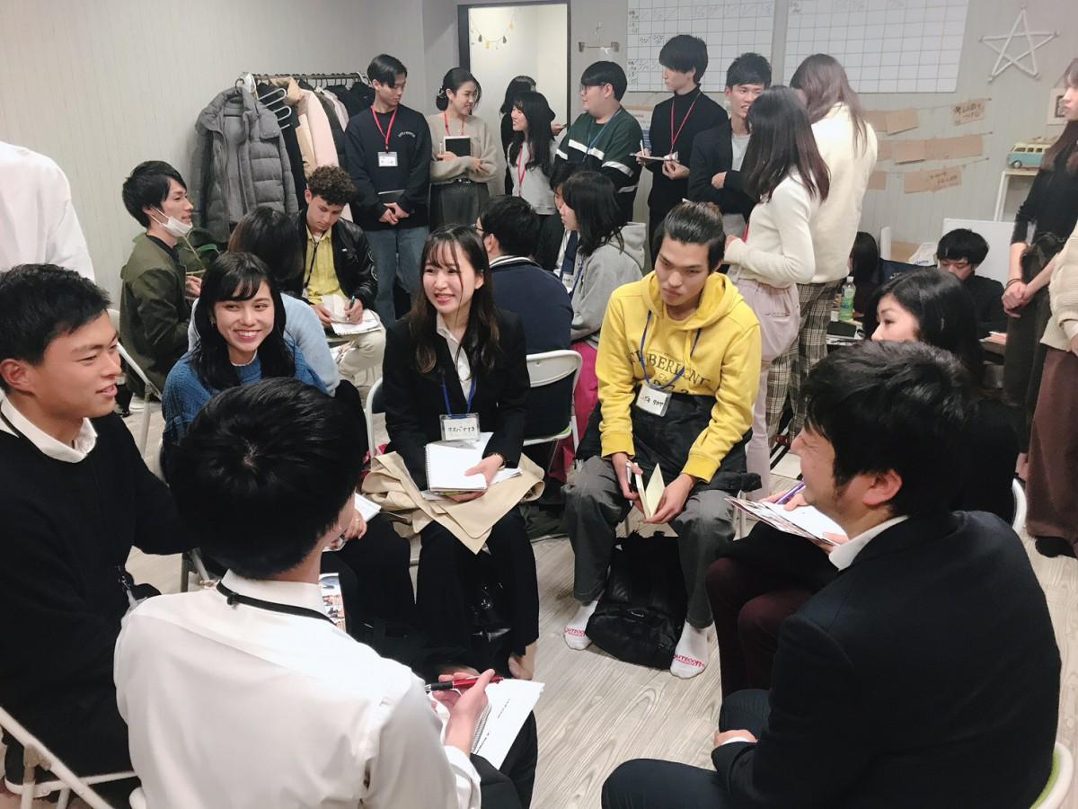【東京オフィス】12/18 21卒向け 三社合同ベンチャーイベントを開催しました!