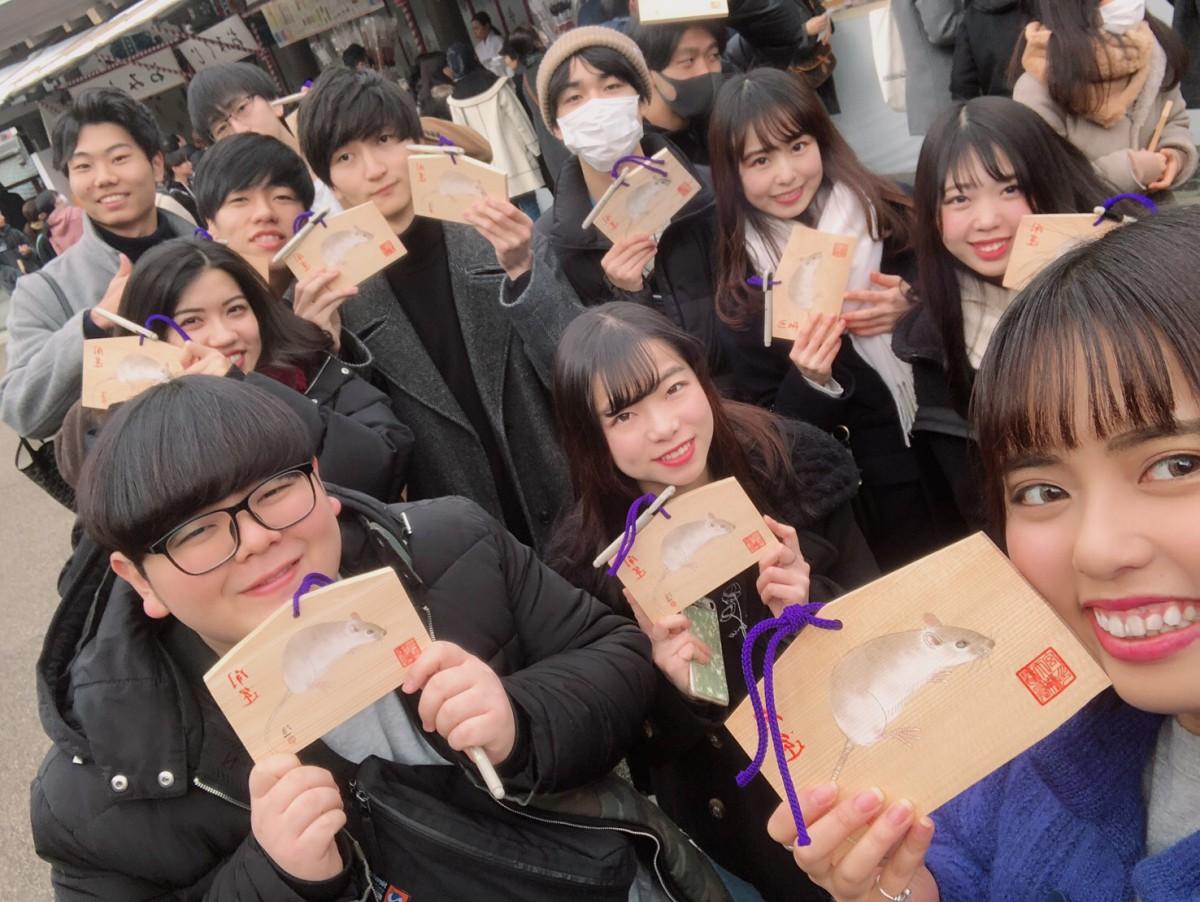【東京オフィス】初詣&内定祈願に行きました